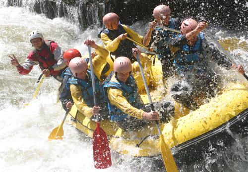 Rafting enterrement vie de garcon