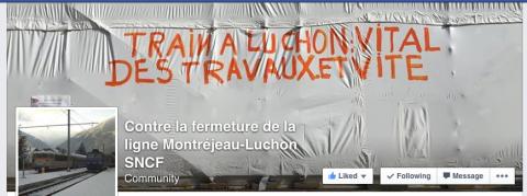 Contre la fermeture de la ligne SNCF Montréjeau-Luchon